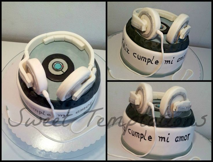 How To Make A Headphone Birthday Cake