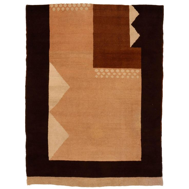 French Art Deco Carpet by Michel Dufet | 1stdibs.com