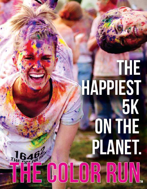 Bucket List!!! The Color Run. Tons of fun to be had with