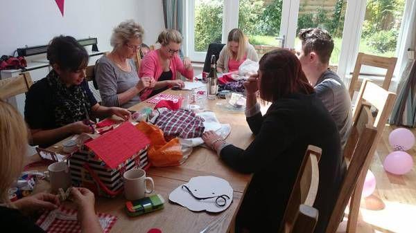 Bristol house craft hen party.