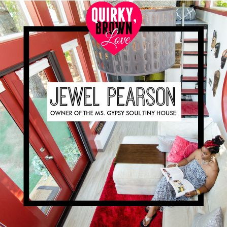 Jewel Pearson Gives A Tour of the Ms. Gypsy Soul Tiny House in Charlotte, NC