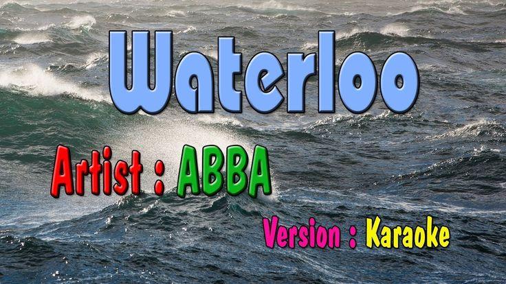Waterloo karaoke | Abba