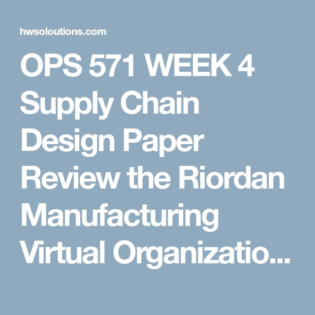 determine riordan s manufacturing strategy chase level or combination and explain its benefits This tutorial contains 2 set of paper review the riordan manufacturing virtual organization write a paper of no more than 1,400-words that includes the following: determine riordan's manufacturing strategy (chase, level, or combination) an.