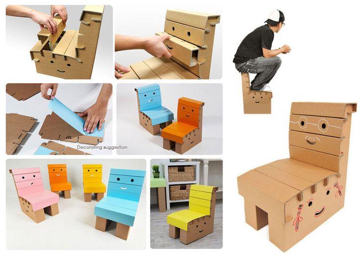 Funny paper furniture