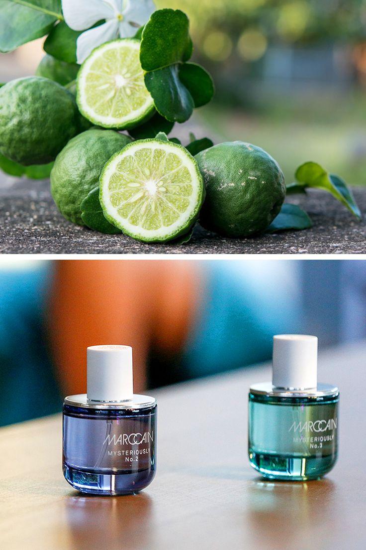 Kennen Sie diese Parfum-Frucht? Zitrone, Pampelmuse – oder richtig: Bergamotte! Die Zitrusfrucht dient als Basis der drei neu lancierten Marc Cain Düfte.