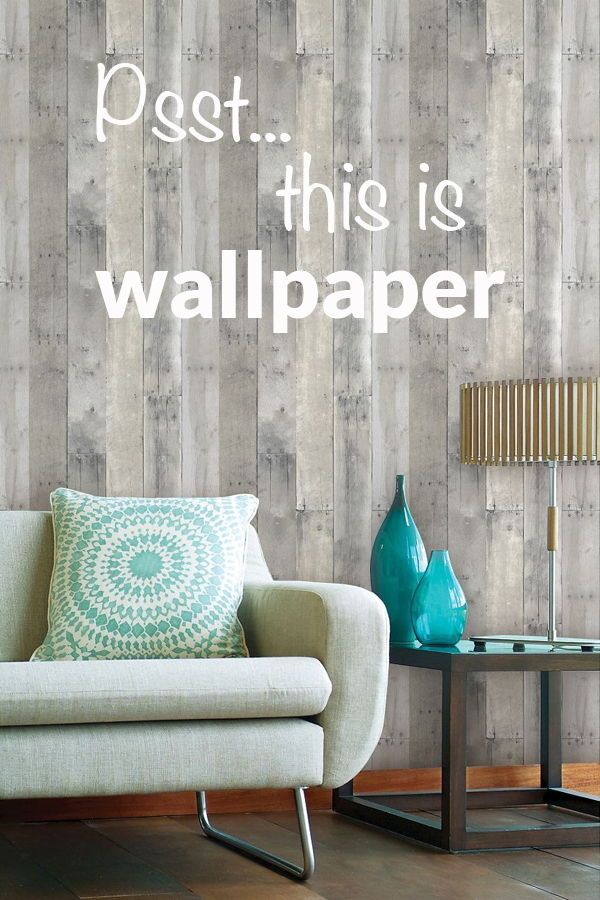 Reclaimed Wood Peel Stick Wallpaper Gray Threshold Home Decor Diy Decor Projects Farmhouse Style Decorating