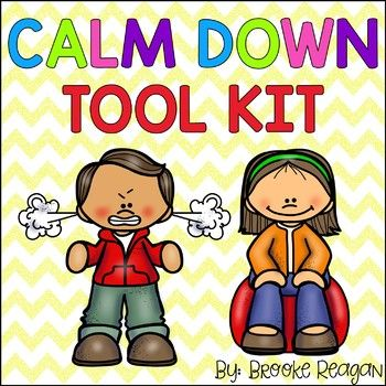 Calm Down Tool Kit What is a Calm Down Tool Box? Have you ever had a student in your class that needs something to help them calm down or cope with a situation? I am about 100% sure that your answer was YES! That is exactly what this Calm Down Tool Box is!
