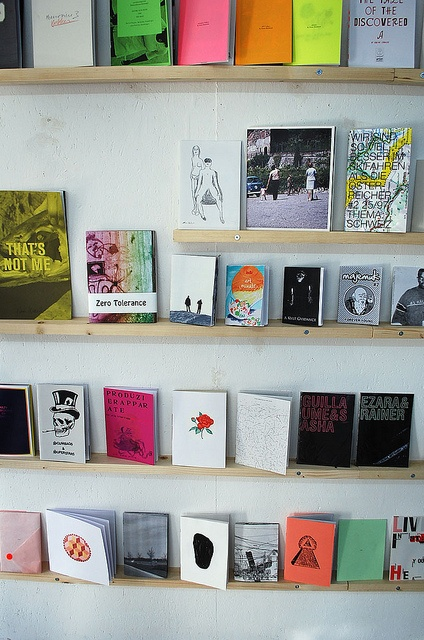 Zine exhibition at Lokal-Int by wefindwildness, via Flickr