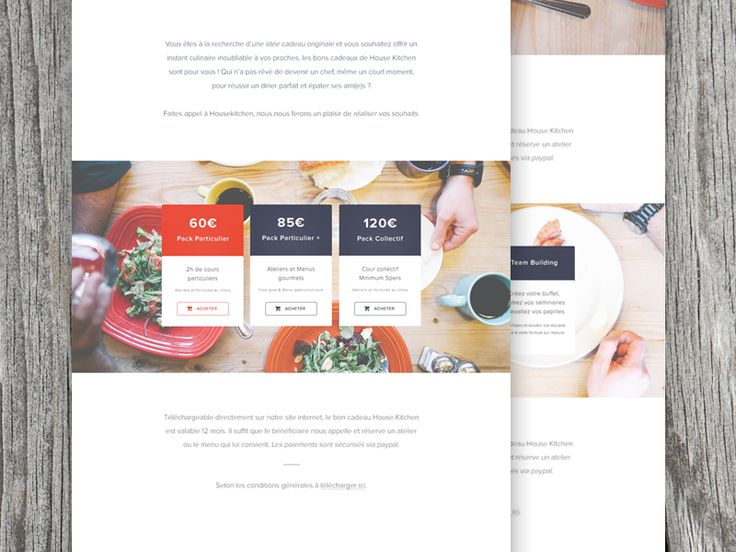 Pricing page by Vincent Tantardini
