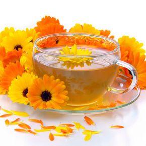 Ceai de gălbenele: vitamine şi minerale la superlativ!