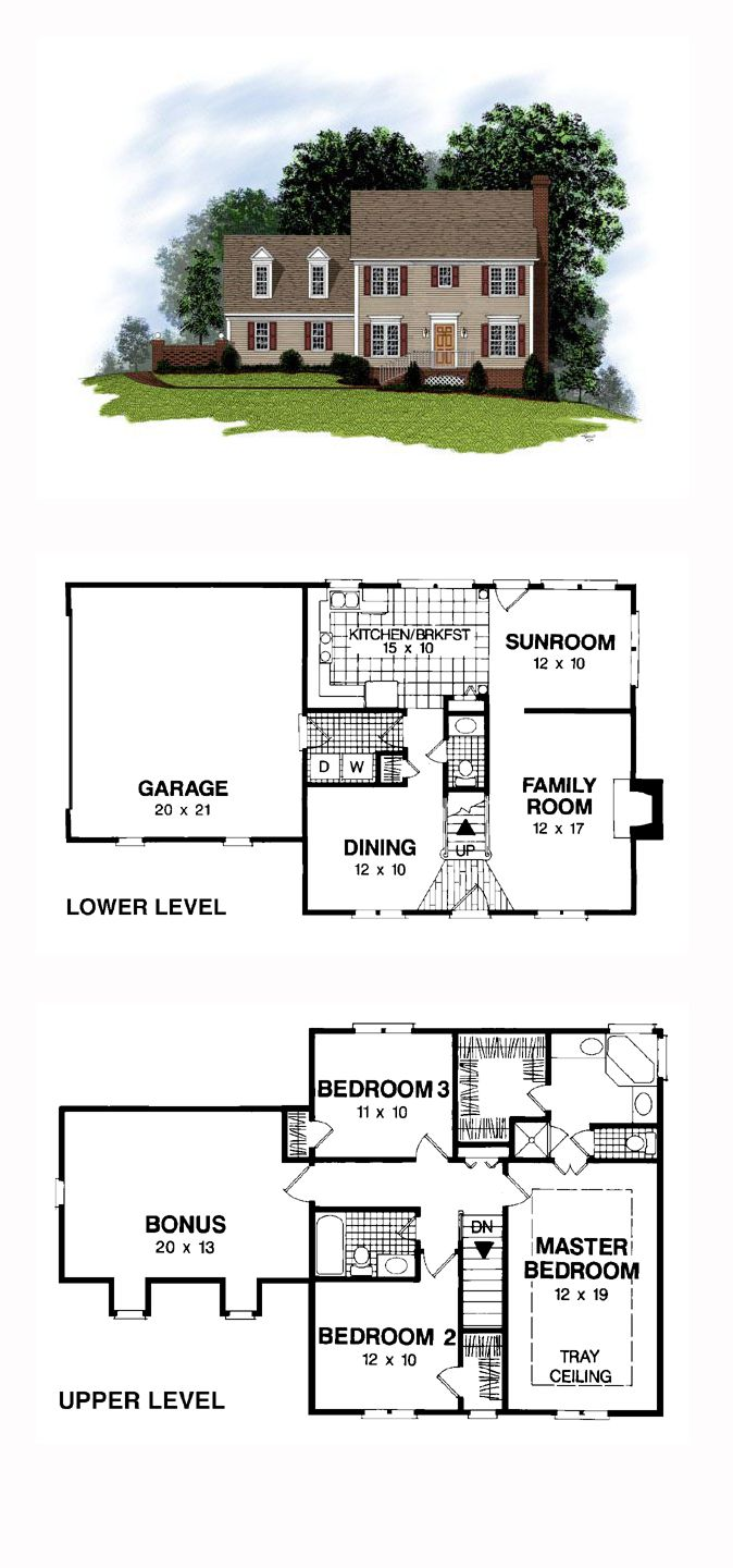 49 Best Images About Colonial House Plans On Pinterest