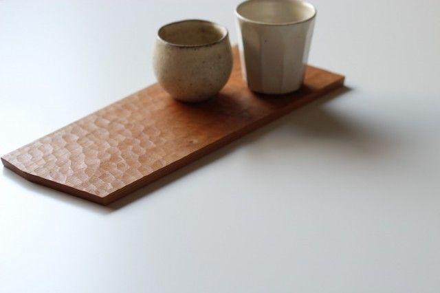 ティートレー(チェリー) - 木工yamagen