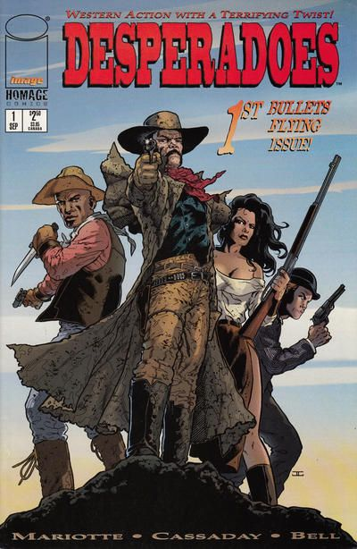 Jeff Mariotte (born 7 September 1955 USA) is a prose and comics author and comics editor. He is known... Jeff Mariotte (born 7 September 1955 USA) is a prose and comics author and comics editor. He is known for both his own original works and stories based in shared licensed universes. At Image in the 1990s he launched Backlash created the weird western feature Desperadoes and wrote WildC.A.T.S Adventures among other work. At WildStorm he wrote Star Trek stories created Countdown (20002001)…