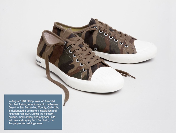 SeaVees, army issue sneaker: Our 08/61 Army Issue Sneaker is inspired by