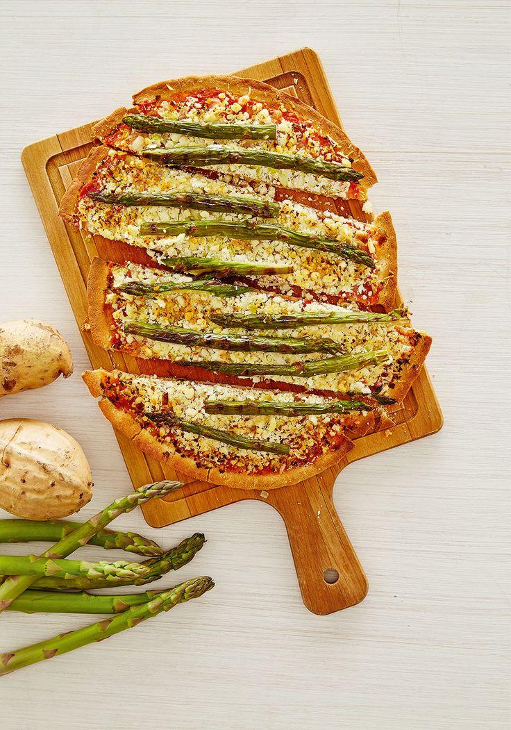 Pizza fit de batata-doce