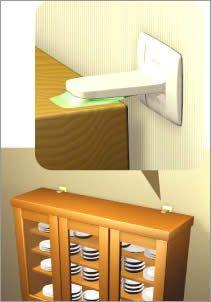 家具転倒防止器具・地震対策 ガムロック -あおば屋
