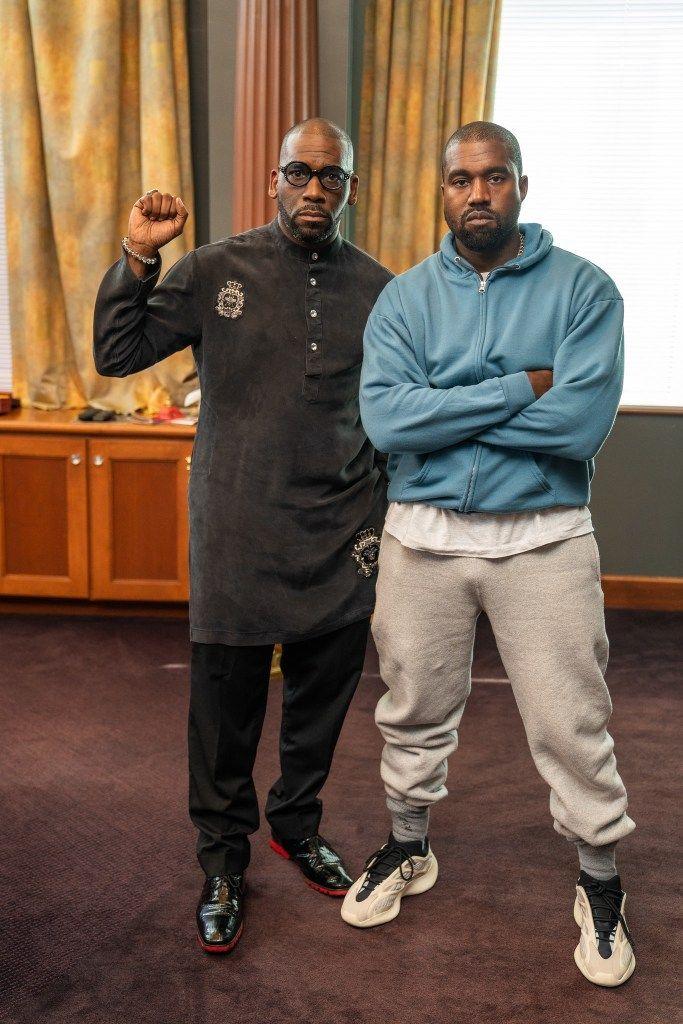 A New Era Pastor Jamal Bryant Bridges The Gap With A Pop Up Sunday Service With Bishop I V Hilliard Kanye In 2020 Kanye West Outfits Kanye West Style Kanye Fashion