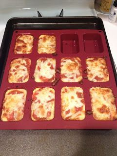 Baked Ricotta. Good to try when you are craving pizza but are still transitioning on your post gastric sleeve diet.: