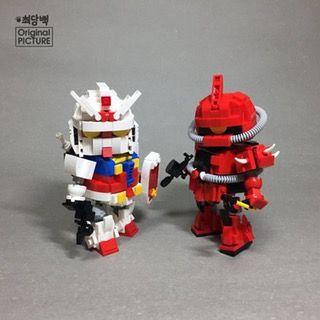 Chibi Gundams : lego