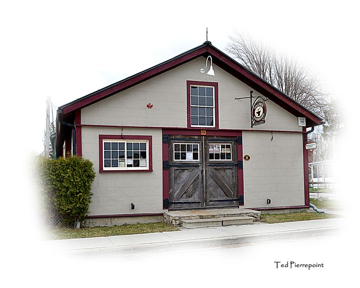 """""""Pioneer Days in Milton"""" Description: Waldie's Blacksmith Shop. Submitted by Ted Pierrepoint #MiltonON"""