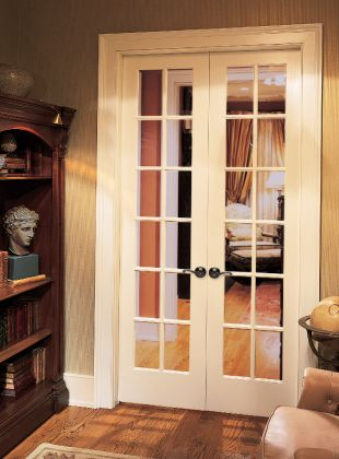 Double Divided Light Interior Doors...I Like These For In Between Our Two