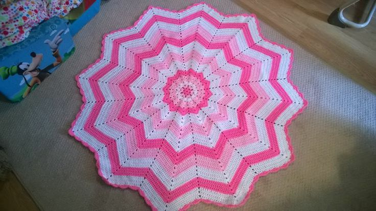 12 Point Star Crochet Baby Blanket My Crochet For Sale