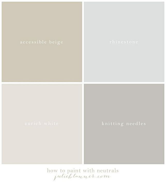 Neutral color palette ideas sherwin williams neutral for Best grey beige paint color