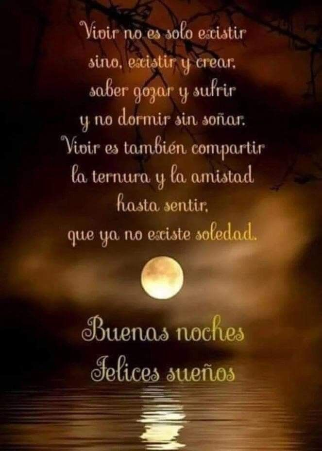 Pin About Buenas Noches Frases On Citas Buenas Noches