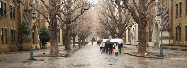 Les études supérieures au Japon