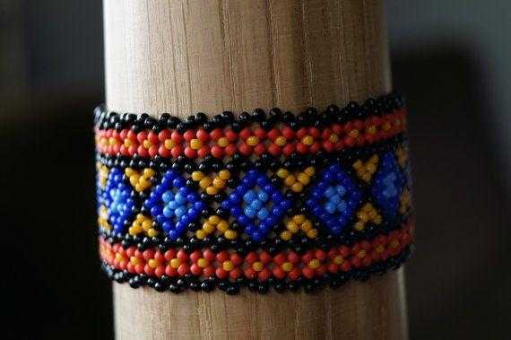 Small Carpathian bracelet by ArtFromKryg on Etsy