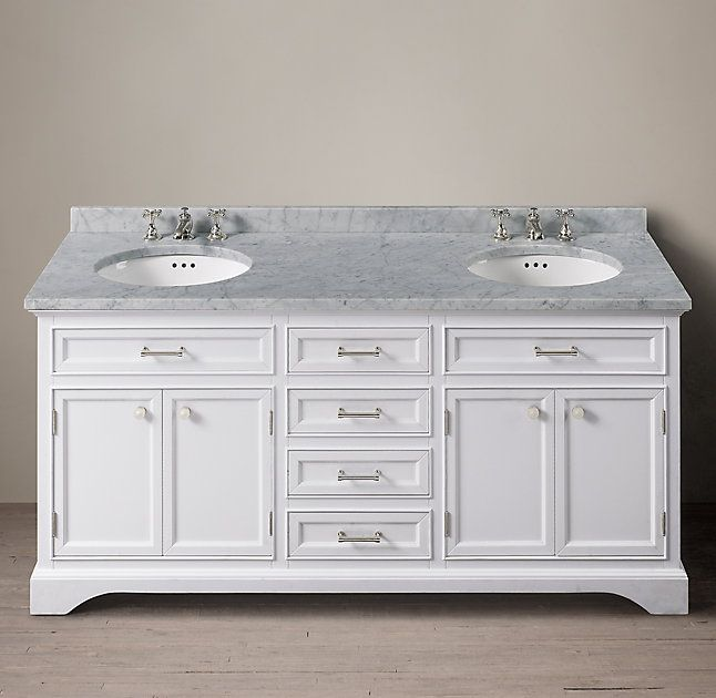 Kent Double Vanity Embraced The Individualistic Possibilities Classical Style