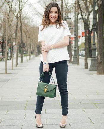 Los vaqueros de las bloggers - Compras Elle - Moda Primavera Verano 2013 - Elle - ELLE.ES