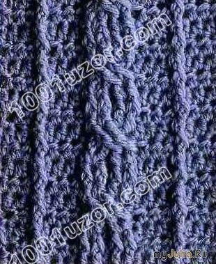 """Косичка крючком: Дневник группы «Театр начинается с вешалки, а красивая одежда с узора"""" / Crochet bride scheme"""