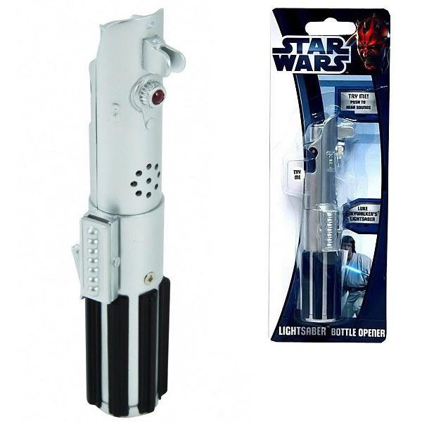 Star Wars Lightsaber Sound Effect Bottle Opener