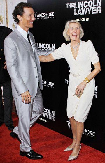 Stars and Their Moms: Matthew McConaughey
