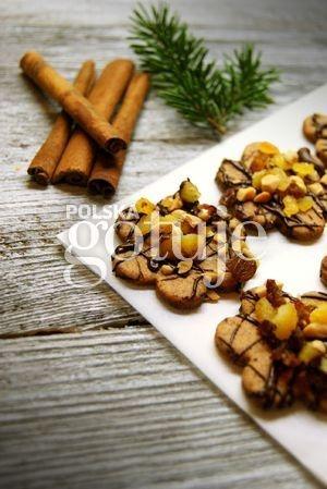 Ciasteczka cynamonowe z bakaliami