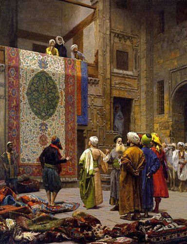 Jean Leon Gerome — The Carpet Merchant, July 20, 2015