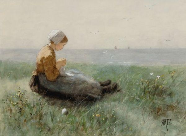 artz-david-adolph-constant-breiend-vissersmeisje-in-de-duinen-kunsthandel-mark-smit-ommen-1386556088_b.jpg