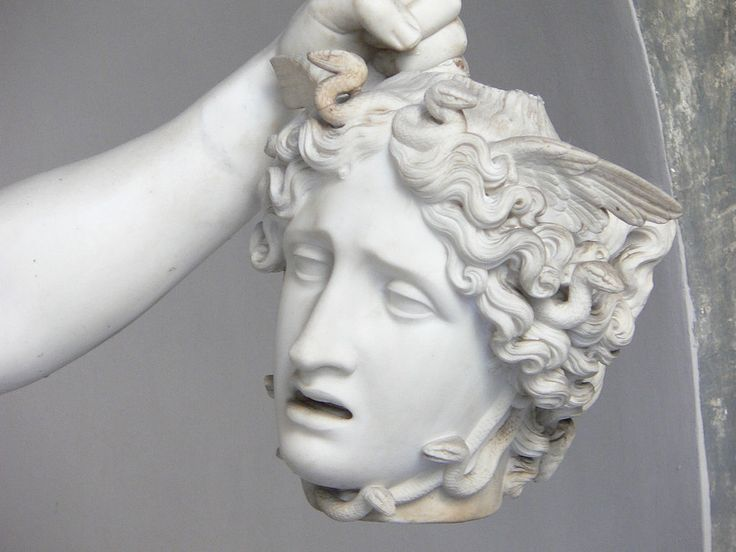 Antonio Canova - Perseus with the Head of Medusa (Detail), 1804-06