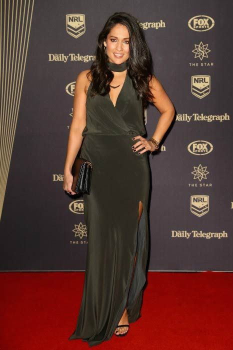 Mel McLaughlin at the 2016 Dally M Awards...