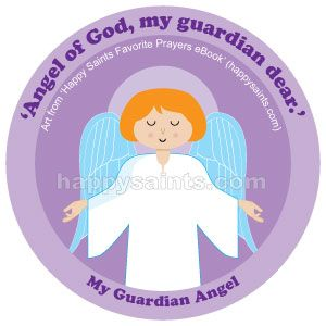 Feast of the Guardian Angels ~ Angel of God, my guardian dear To Whom His love commits me here  Ever this day be at my side To light and guard, to rule and guide. Amen. Happy Saints