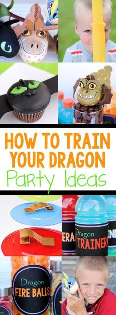 Get ready for the new movie!!! How to Train Your Dragon Party Ideas