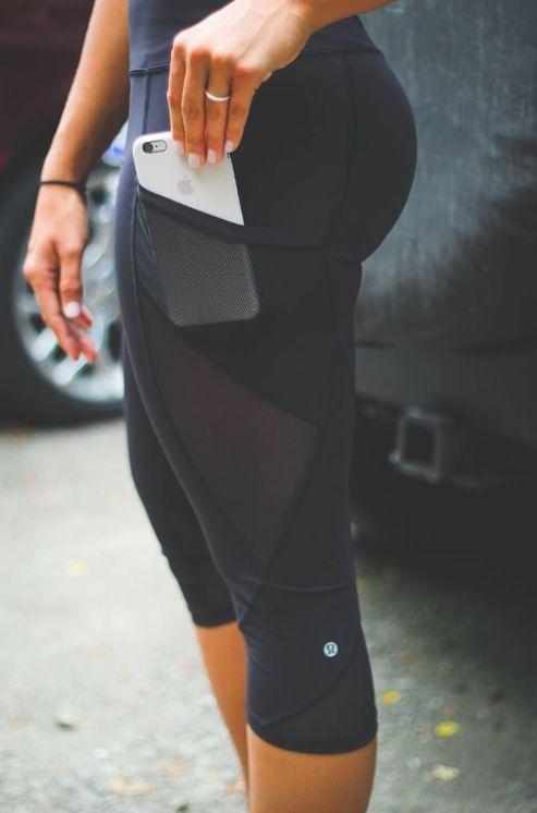 Best 25  Yoga capris ideas on Pinterest | Yoga clothing, Workout ...