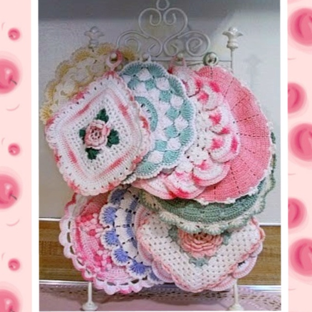 Free Vintage Kitchen Crochet Patterns : 58 best images about vintage crochet on Pinterest Free ...