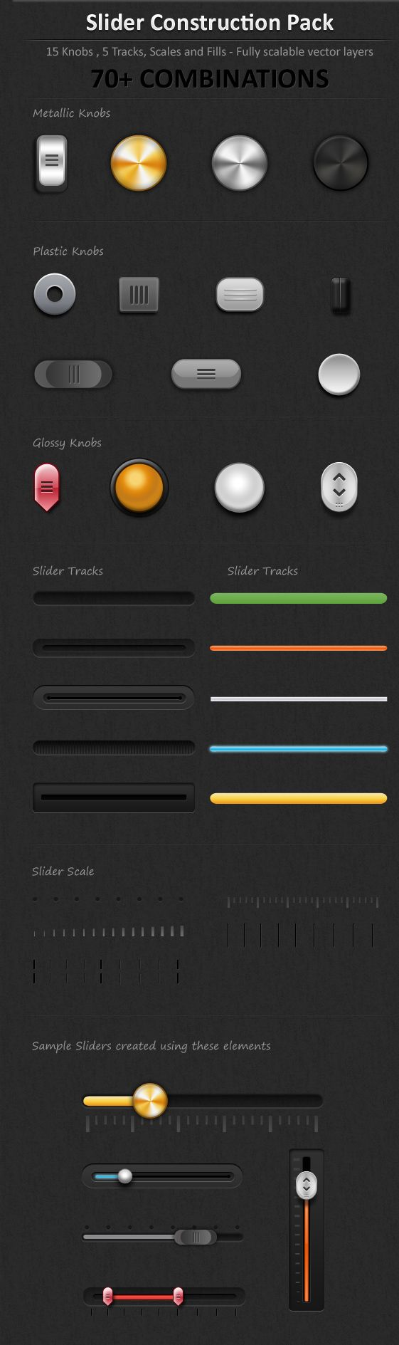 Touch Screen Slider Pack