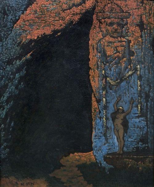 Ofiara Smoka Wawelskiego Sacrifice To The Wawel Dragon By Polish Artist Marian Wawrzeniecki 1906 According To The Popular 19th Century Art Art Fine Art