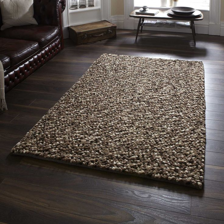 Pebbles Wool Gy Rugs In Beige Free Uk Delivery