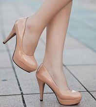 Весна 2016 женские закрытый носок туфли на шпильках туфли на платформе женская обувь(China (Mainland))