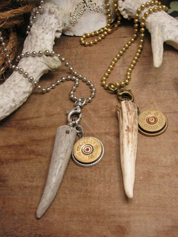 Shotgun Casing Jewelry -                      This is going to so be for my first buck!!!