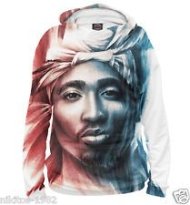 2Pac Exclusive cool man Hoodie Shakur Tupac Rap Hip Hop Music 9 Full print PB